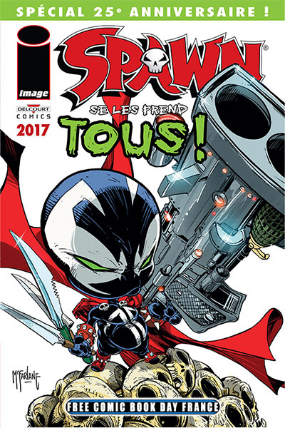 Spawn se les prend tous (Free Comic Book Day France 2017)